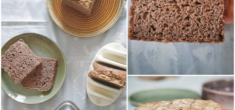 Teff and Finger Millet bread ( gluten, nut, dairy, rice and soy free)